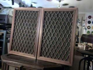 PIONEER CS 99A VINTAGE PAIR OF SPEAKERS FLOOR COLLECTIBLES NICE CONES