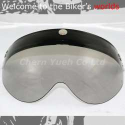 Shield Visor Face Mask UV Light Black Lens for Helmet ICON SHOEI Arai