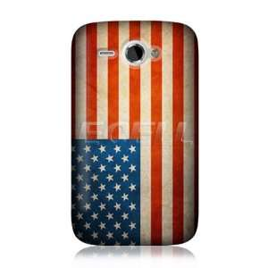 CASE DESIGNS AMERICAN FLAG BACK CASE COVER FOR HTC CHACHA Electronics