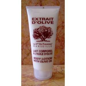 Extrait DOlive Body Lotion With Olive Oil 6.8 fl.oz. From France