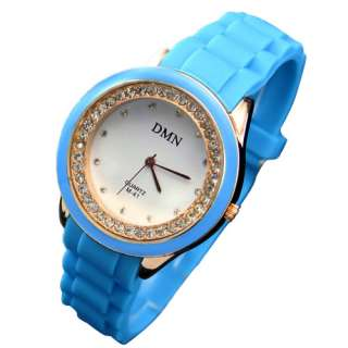 Fashion Ladies Womens Silicone Jelly Quartz Wrist Watch Watches 7