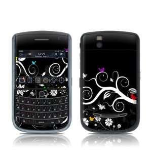 Tweet Dark Design Skin Decal Sticker for Blackberry Curve