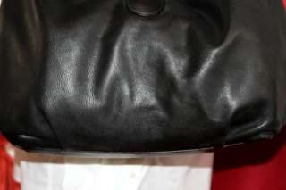 MICHAEL KORS SKORPIOS BLACK LEATHER HOBO MSRP$995/$1,395 SOLD OUT