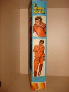 MEGO Six Million Dollar Man 1970s Vintage Action Figure MIB New Peru