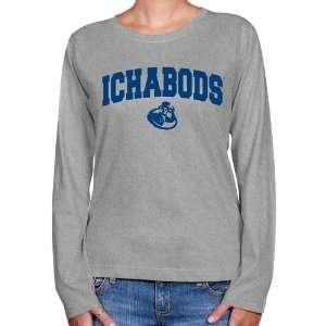 NCAA Washburn Ichabods Ladies Ash Logo Arch Long Sleeve