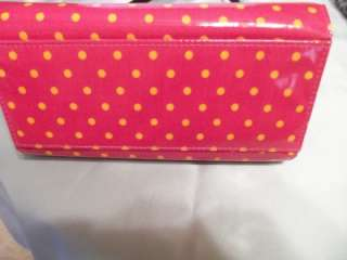 Miche Shell Only Coral Polka Dot for Mini Miche Bag Very Nice Shell