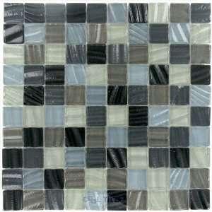New era art glass 1 1/4 x 1 1/4 mesh mounted glass mosaic in beach s