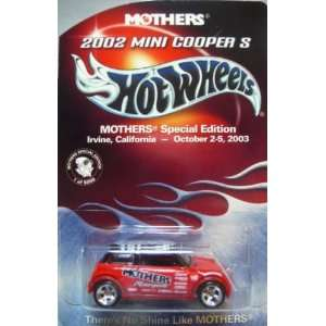 Hot Wheels MINI COOPER S Limited Special Edition Mothers Wax