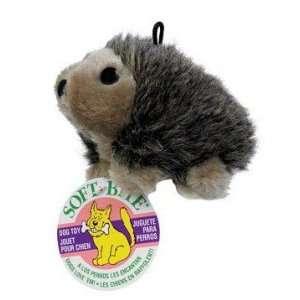 Aspen Pet Booda Hedgehog Plush Medium Dog Toy Pet