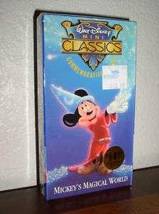 Walt Disney Mini Classic Mickeys Magical World 012257690033