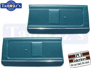 1966 66 GTO   LeMans Front & Rear Door Panels PUI