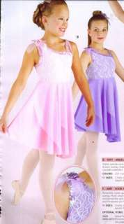 NWT LYRICAL BALLET DANCE COSTUME CHILD ADULT 2 COLORS