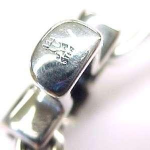 JAMES AVERY ~ Sterling Silver St. Teresa Cross Hook On Bangle Bracelet