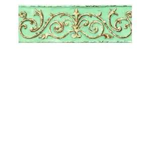 Wallpaper York Border Gallery Arch Scroll SM8474BD