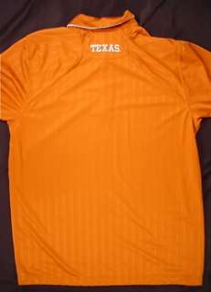 TEXAS LONGHORNS Nike Dri Fit Short Sleeve Polo Shirt (Mens Large