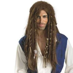 Jack Sparrow Deluxe Wig   Costumes & Accessories & Wigs & Beards Toys
