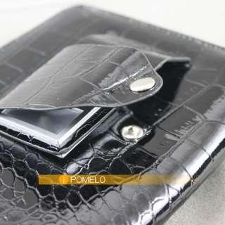 Brown Black Leather Case Cover For Latest  Kindle Touch with