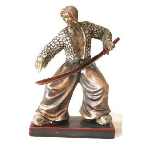 Japanese Samurai Warrior Figurine Sculpture Art SM38697