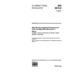 ISO 3272 2:1994, Microfilming of technical drawings and