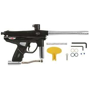 Pirahna GTI+ Semi Auto Paintball Gun   Black Sports