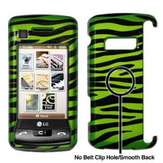 For LG enV Touch Green Zebra Case Cover 753182935706