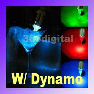 Water Faucet Color Change LED Light Temperature Sensor Three Color