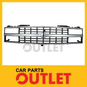 88 89 90 91 92 CHEVY K1500 K2500 K3500 FRONT GRILL QUAD