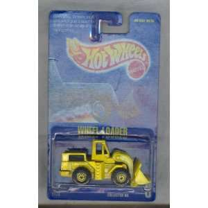 Hot Wheels 1991 3 Wheel Loader All Blue Card 164 Scale