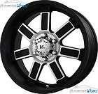 +30mm Matte Black Wheels Rims Inch 20 (Fits Toyota Land Cruiser