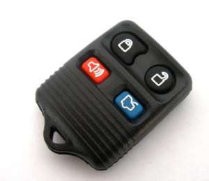REMOTE KEYLESS ENTRY BLANK REPLACEMENT KEY FOB CASE SHELL &PAD FOR