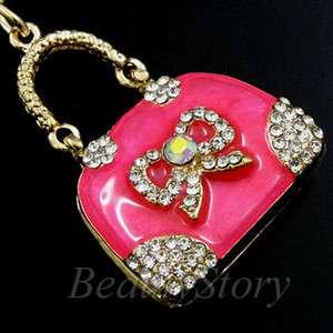 ADDL Item  Rhinestone Crystal Handbag Key Chain