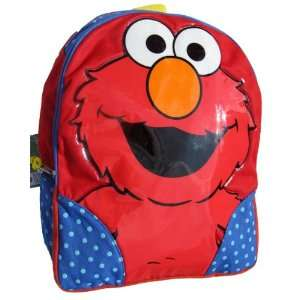 Sesame Street Elmo Large School Backpack: Toys & Games