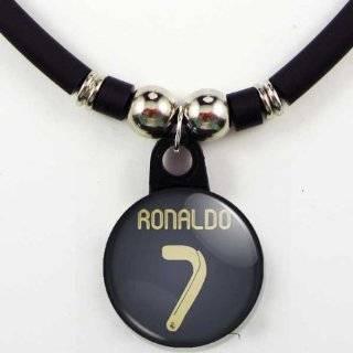 Cristiano Ronaldo FC Real Madrid Soccer Jersey Necklace