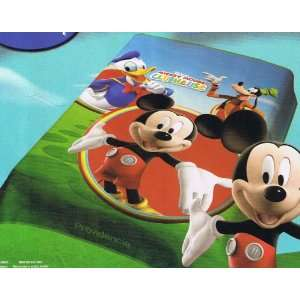 Disney Mickey Mouse Blanket Clubhouse Donald Duck Goofy