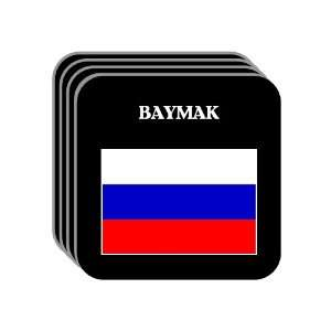 Russia   BAYMAK Set of 4 Mini Mousepad Coasters