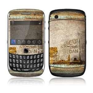 BlackBerry Curve 3G Decal Skin Sticker   Danger