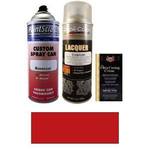 Electric Currant Red Pearl Metallic Spray Can Paint Kit for 1992 Ford