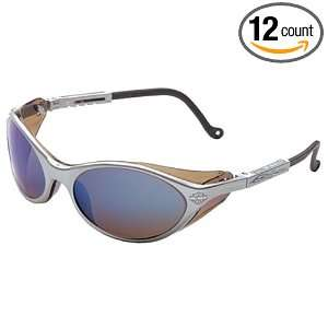 12 Pack Harley Davidson HD100 Safety Glasses with Silver Frame and