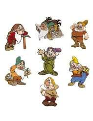 Walt Disney Snow White and The 7 Dwarfs Embroidered Iron On Applique