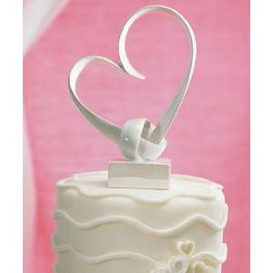 Wedding Cake Topper   My Love Stylized Heart (1 Topper