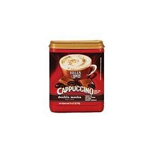 Hills Bros Coffee, Double Mocha Cappuccino, 16.0 Ounce