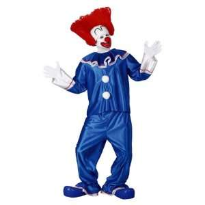 Bozo The Clown Adult Costume   Standard One Size : Toys & Games