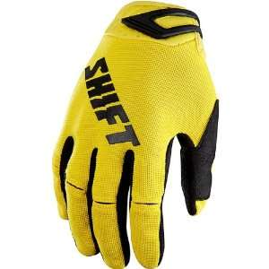 Mens MX/Off Road/Dirt Bike Motorcycle Gloves   Yellow/Black / Small