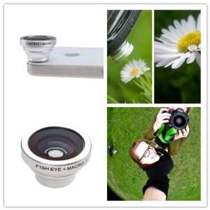 com BrainyDeal 2 in 1 Macro Lens and Fish Eye Camera Lens for iphone