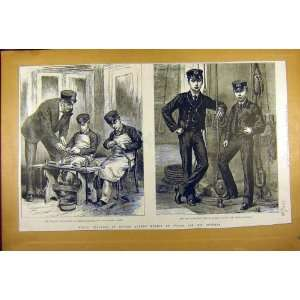 1885 Naval Training Prince Albert Victor Wales Brother