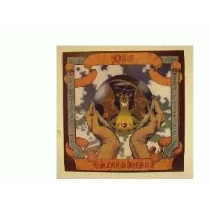 Ronnie James Dio Poster Sacred Heart Black Sabbath