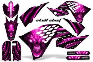 KTM SX65 2009 2012 GRAPHICS KIT DECALS SC PINK