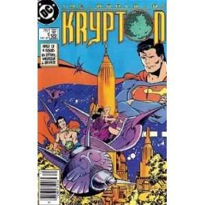 The World of Krypton John Byrne Books