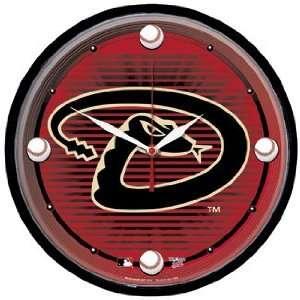 MLB Arizona Diamondbacks Team Logo Wall Clock Sports