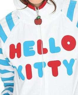 HELLO KITTY~ CLASSIC WHITE I AM EARRED HOODIE